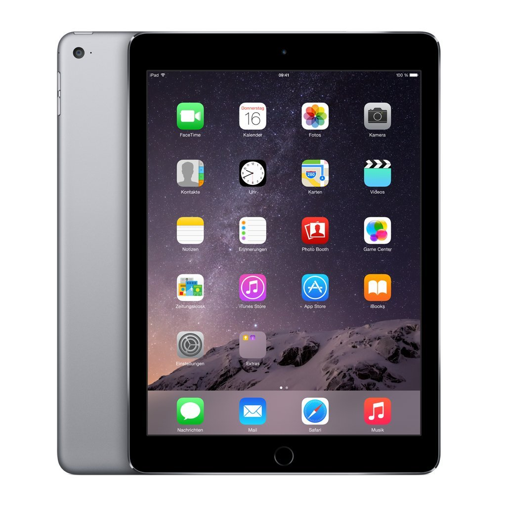 Apple iPad Air 2 + Wi-Fi + Cellular